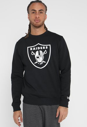 NFL TEAM LOGO OAKLAND RAIDERS - Klubbkläder - black