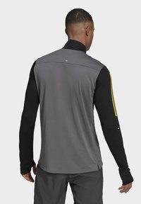 adidas Performance - OWN THE 1/2 RESPONSE PRIMEGREEN RUNNING PULLOVER SWEATSHIRT - Sweatshirt - grey - 2