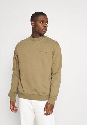 NORSBRO CREW NECK   - Sweatshirt - covert green