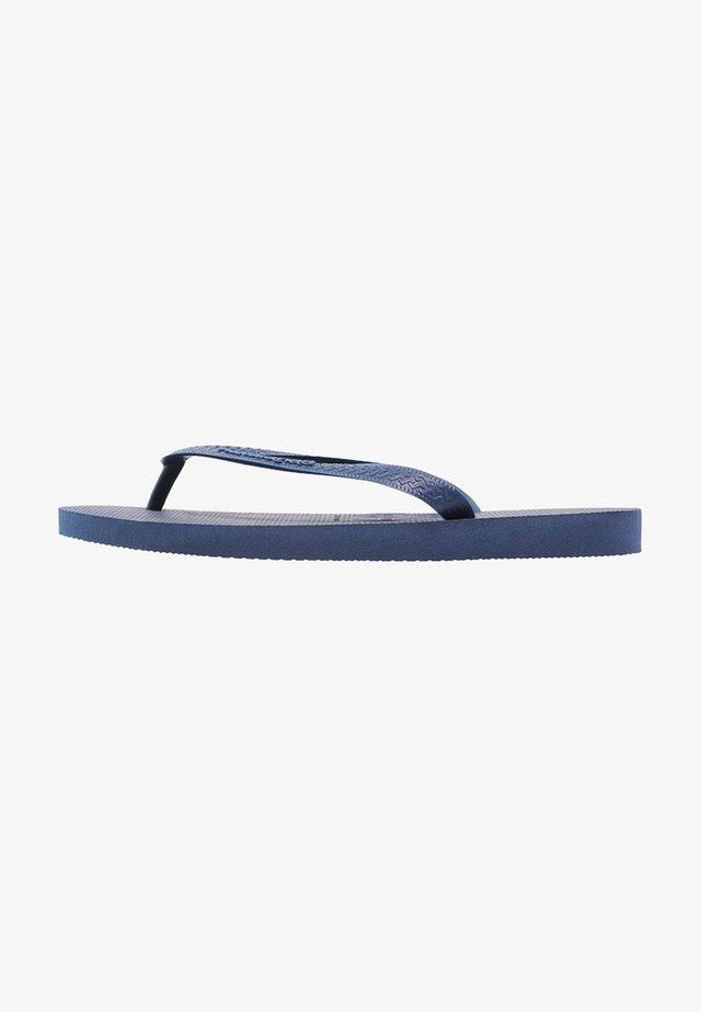 TOP - Japonki kąpielowe - navy blue