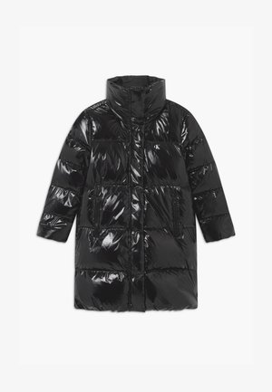 GLOSSY  PUFFER  - Down coat - black