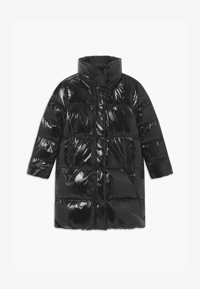 GLOSSY  PUFFER  - Down coat - black