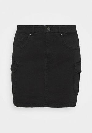 ONLMISSOURI LIFE CARGO SKIRT - Mini skirt - black
