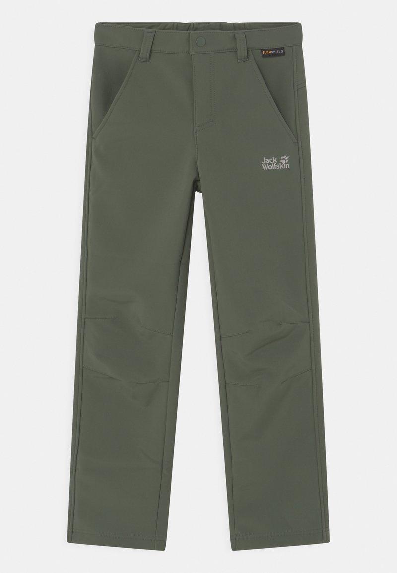 Jack Wolfskin - FOURWINDS UNISEX - Outdoor trousers - thyme green