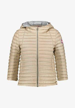 MIT KAPUZE - Down jacket - camel