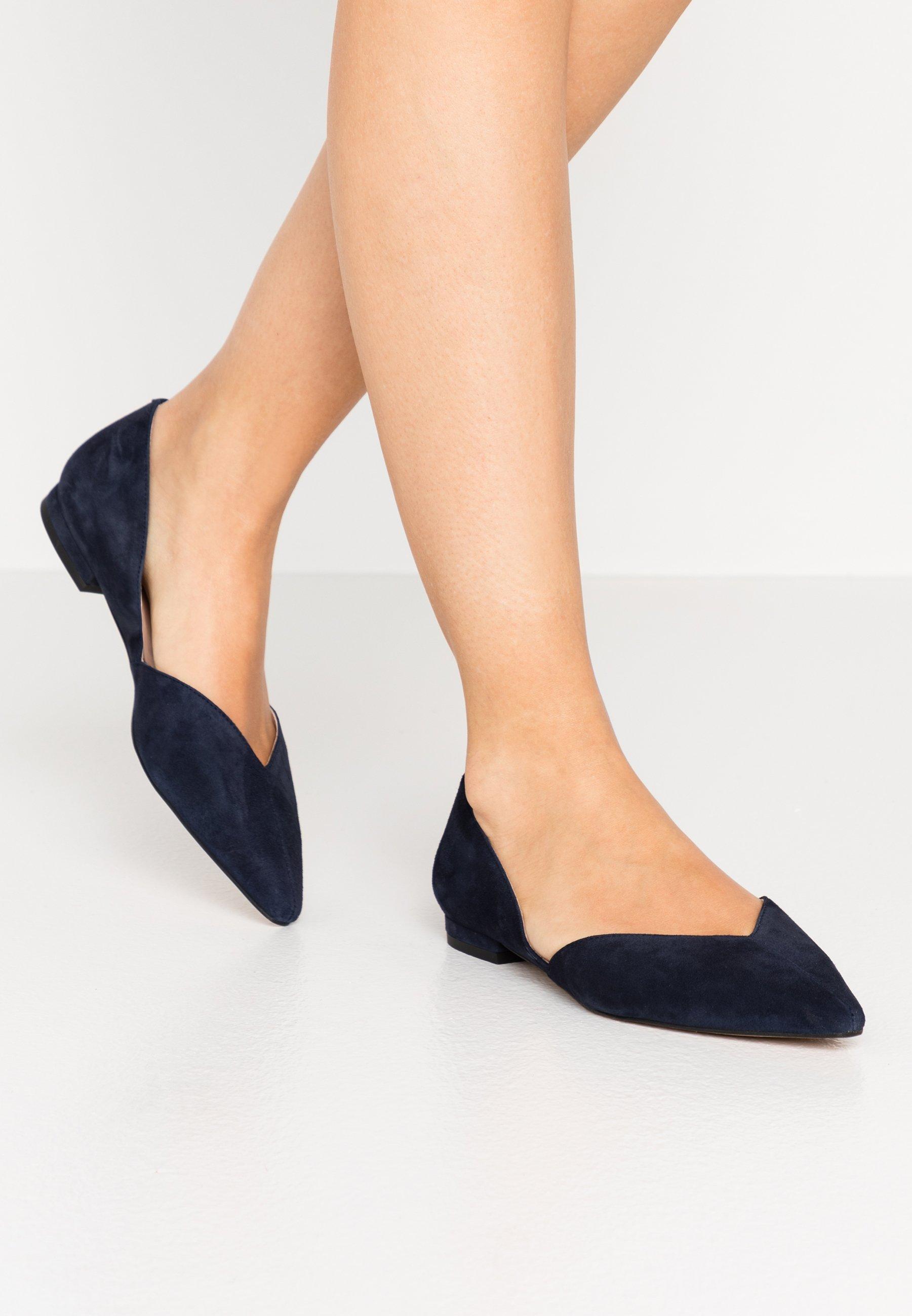Women Ballet pumps - dark blue