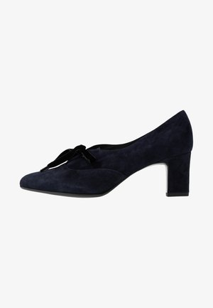 MIRI - Lace-up heels - navy