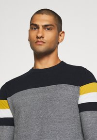 Jack & Jones - JJTUCKER - Stickad tröja - spicy mustard - 4