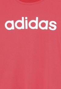 adidas Performance - TEE - Camiseta estampada - coral pink - 3