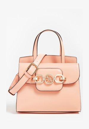 HENSELY - Handbag - korallenrot