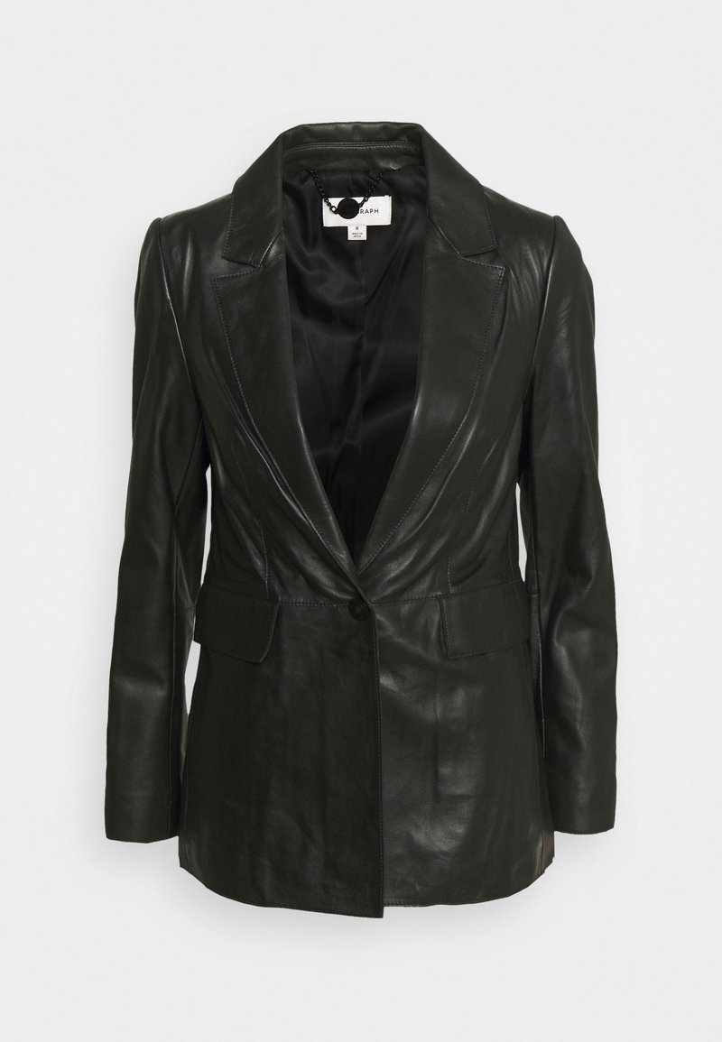 Marks & Spencer London - Kurtka skórzana - black