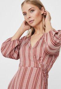 Vero Moda - Day dress - marsala - 3