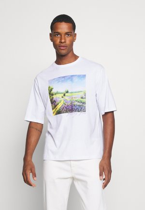 UNISEX - Printtipaita - white
