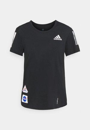 SPACE TEE - Camiseta estampada - black