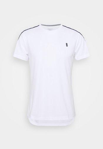 TOMLIN TEE - Camiseta estampada - brilliant white