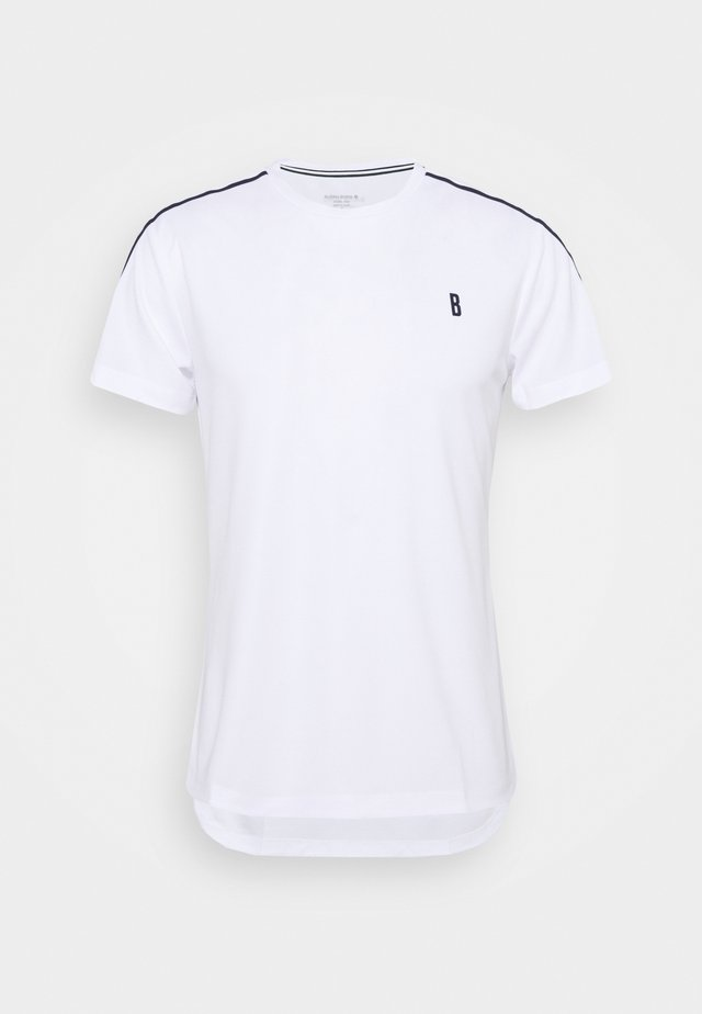 TOMLIN TEE - T-Shirt print - brilliant white