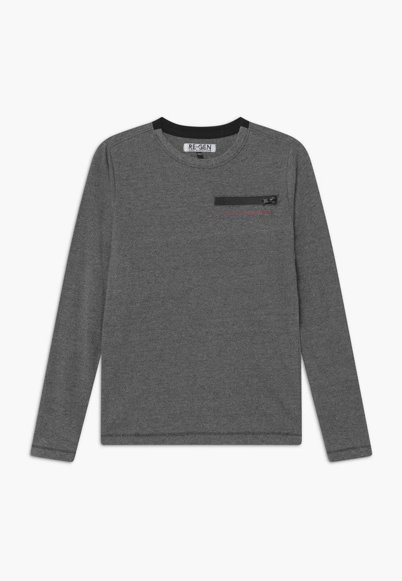 Re-Gen - Pitkähihainen paita - black