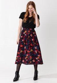 Indiska - SIBEL - A-line skirt - black - 0