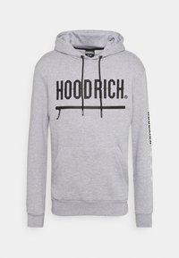 Hoodrich - AMBUSH HOODIE - Hoodie - heather grey/black - 0