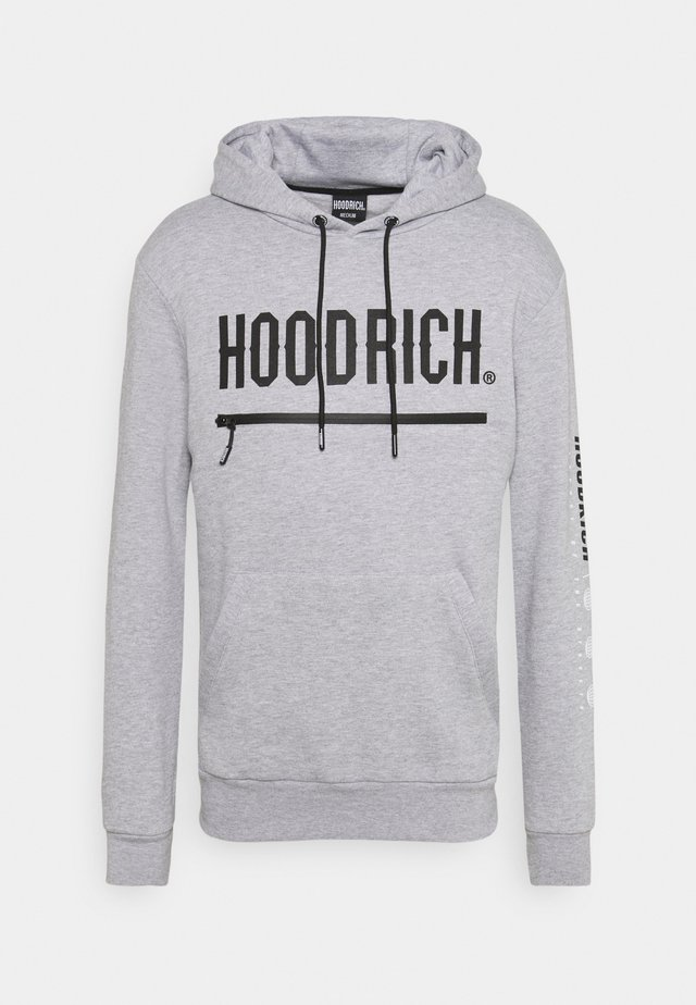 AMBUSH HOODIE - Hoodie - heather grey/black