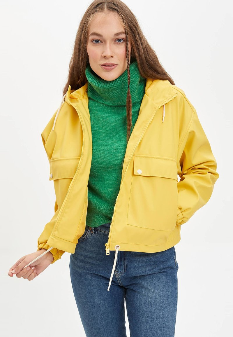 DeFacto - Impermeable - yellow