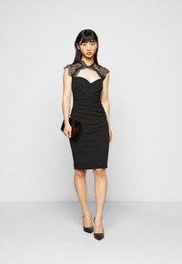 SISTA GLAM PETITE - LOTTIE - Cocktail dress / Party dress - black - 1