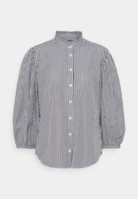 Lauren Ralph Lauren - 70S NON STRETCH - Button-down blouse - black/white - 5