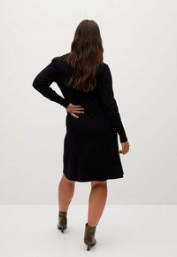 Violeta by Mango - BLONLI - Day dress - black - 2
