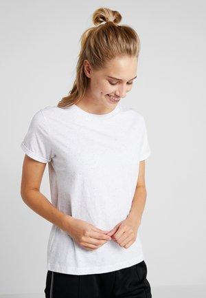 REGULAR  - Camiseta estampada - white