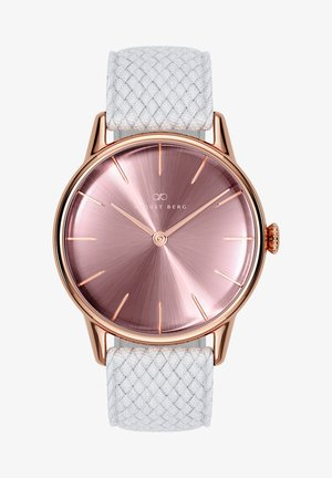 UHR SERENITY ASH & ORCHID WHITE PERLON 32MM - Watch - orchid