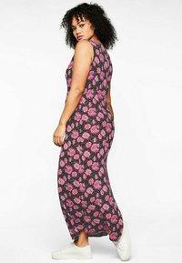 Sheego - Maxi dress - schwarz bedruckt - 2