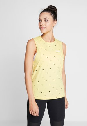 TANK  - Top - light yellow