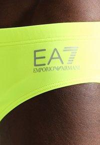 EA7 Emporio Armani - Costume da bagno - giallo fluo - 2