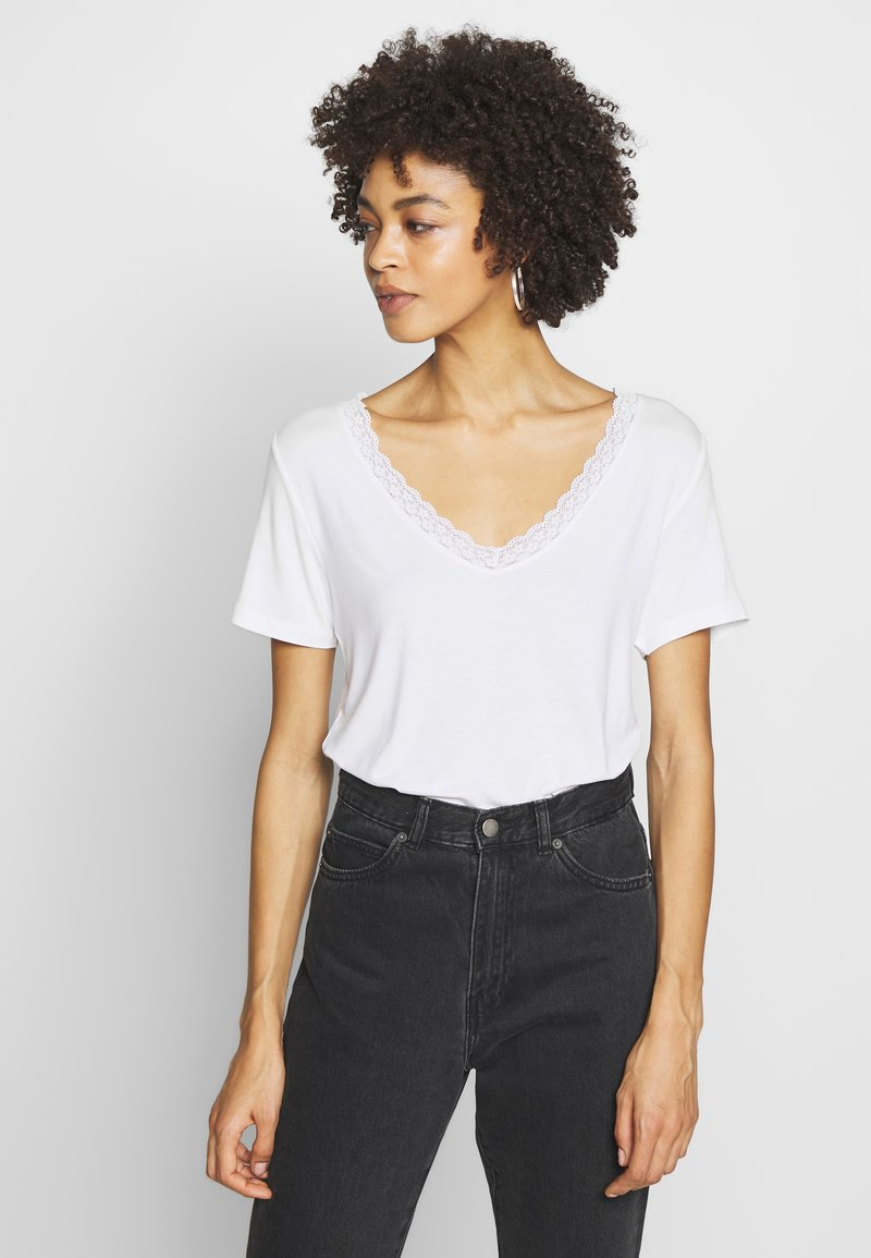 Anna Field - T-shirts - white
