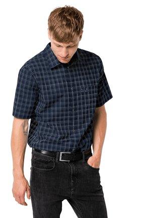 HOT SPRINGS - Shirt - night blue checks