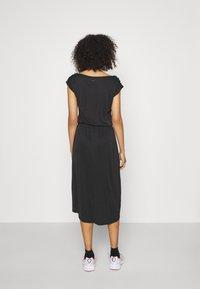Ragwear - ETHANY - Jersey dress - black - 2