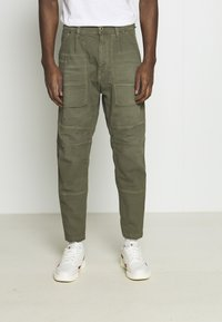 G-Star - FATIGUE RELAXED TAPERED - Reisitaskuhousut - antic asfalt - 0