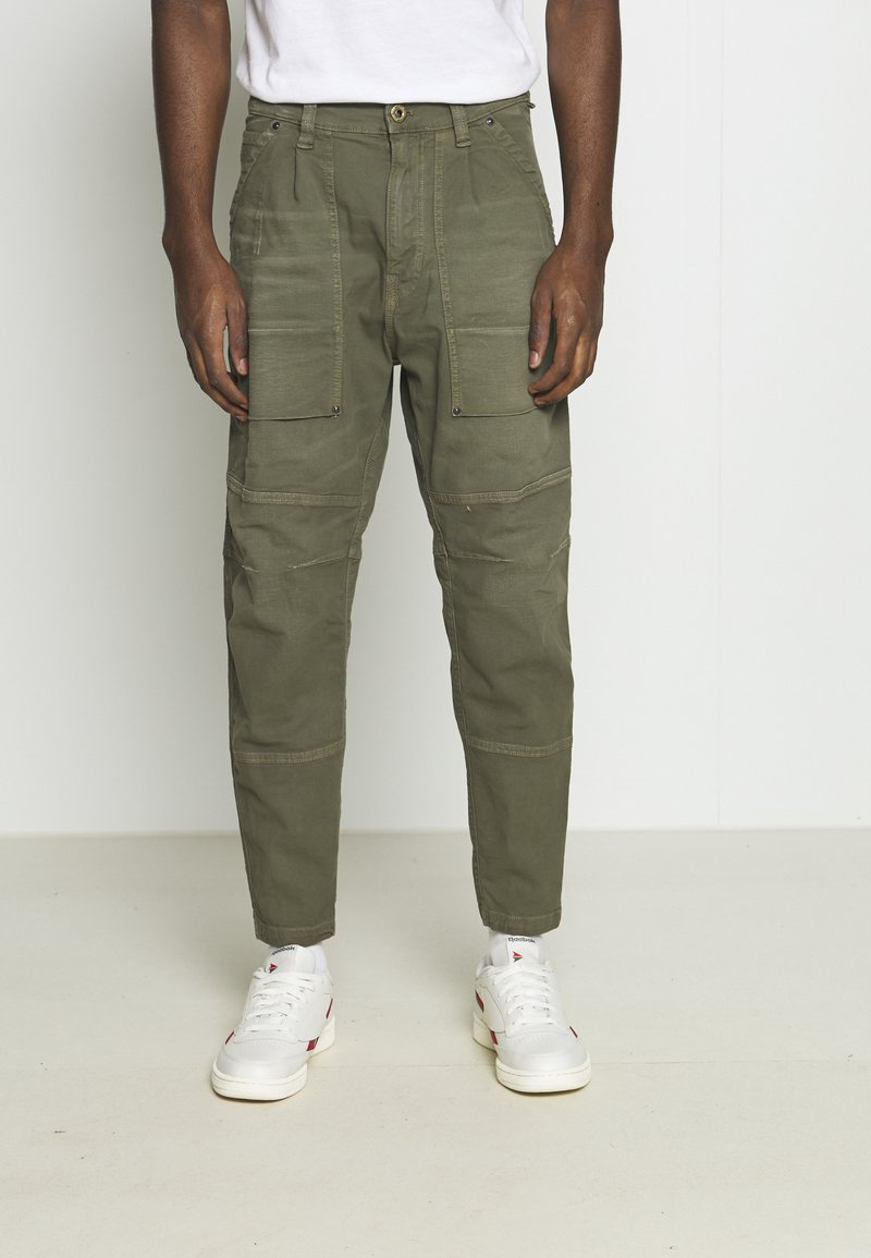 G-Star - FATIGUE RELAXED TAPERED - Reisitaskuhousut - antic asfalt