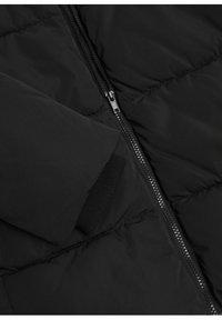 Mango - STEPP-ANORAK MIT KAPUZE - Winter coat - schwarz - 5