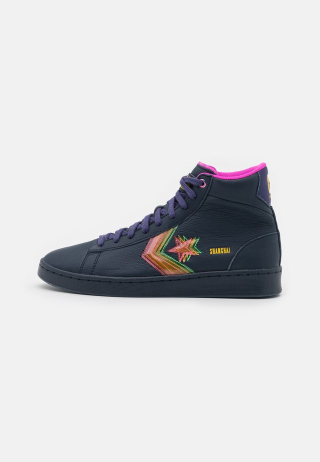 HEART OF THE CITY UNISEX - High-top trainers - obsidian/hyper magenta/bold citron