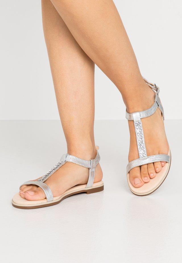 BAY ROSA - Sandales - silver