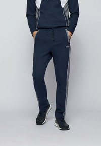 BOSS - SAGGY  - Sweater met rits - dark blue - 0