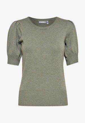 ZUBASIC   - Print T-shirt - mottled light green