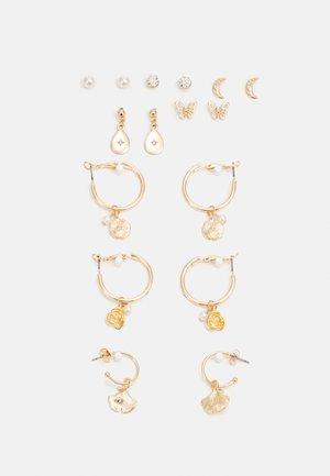 FGKATRINNE EARRINGS 8 PACK - Náušnice - gold-coloured