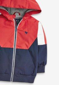 Next - COLOURBLOCK - Light jacket - red - 3