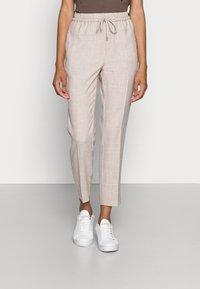 InWear - CADINA PULL ON PANT - Trousers - oatmeal melange - 0