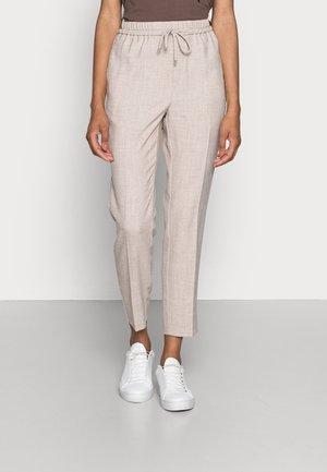 CADINA PULL ON PANT - Trousers - oatmeal melange