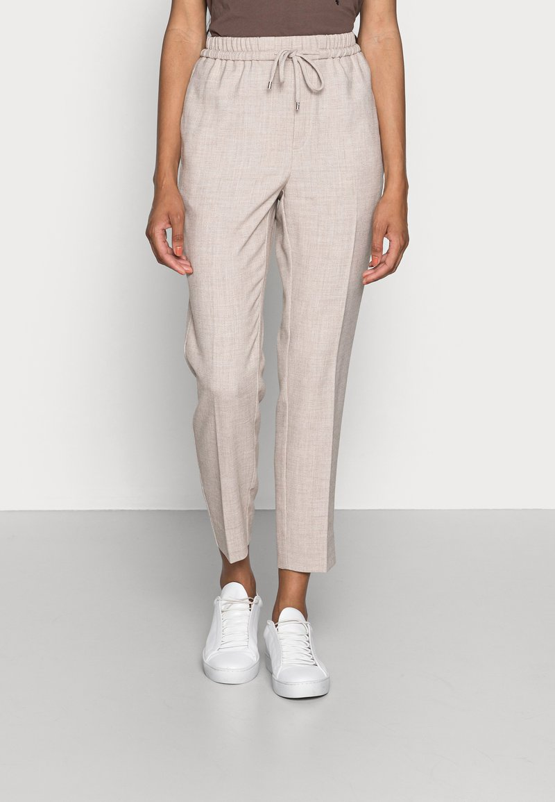 InWear - CADINA PULL ON PANT - Trousers - oatmeal melange