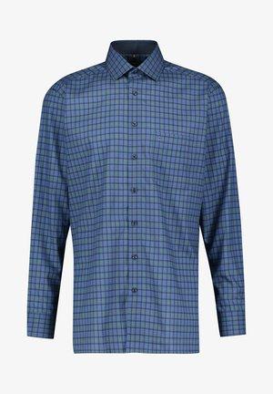 MODERN FIT - Shirt - green, blue