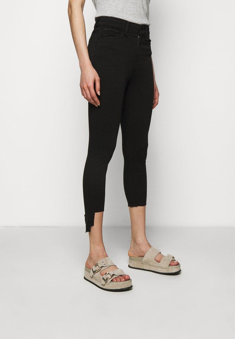 rag & bone - NINA ANKLE SKINNY - Jeans Skinny Fit - black